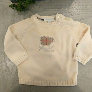 3 months Burberry sweater